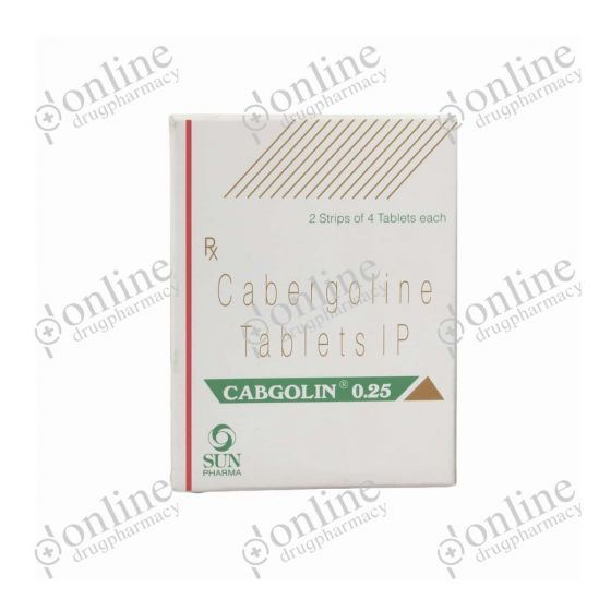 Cabgolin 0.25 mg nasal spray