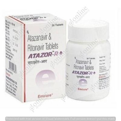 Atazor R 300 mg/100 mg Tablet