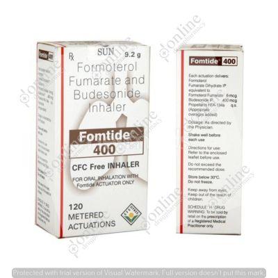 Fomtide 400 CFC Free Inhaler