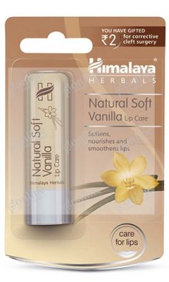 Natural Soft Vanilla Lip Care 4.5gm