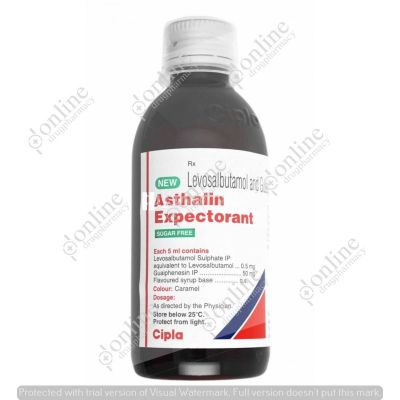 New Asthalin Expectorant