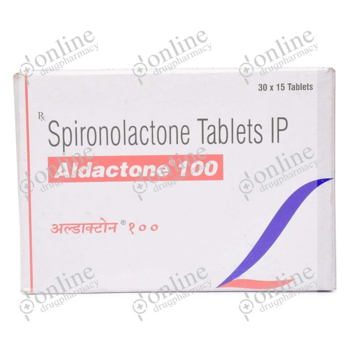 Aldactone 100 mg-Front-view