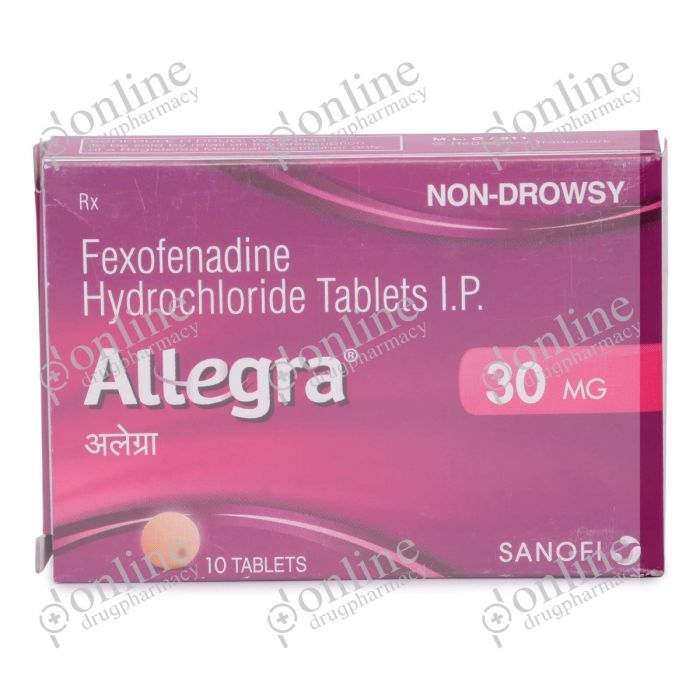Allegra 30 mg-Front-view