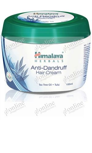 Anti-Dandruff Hair Cream 100ml-front-view