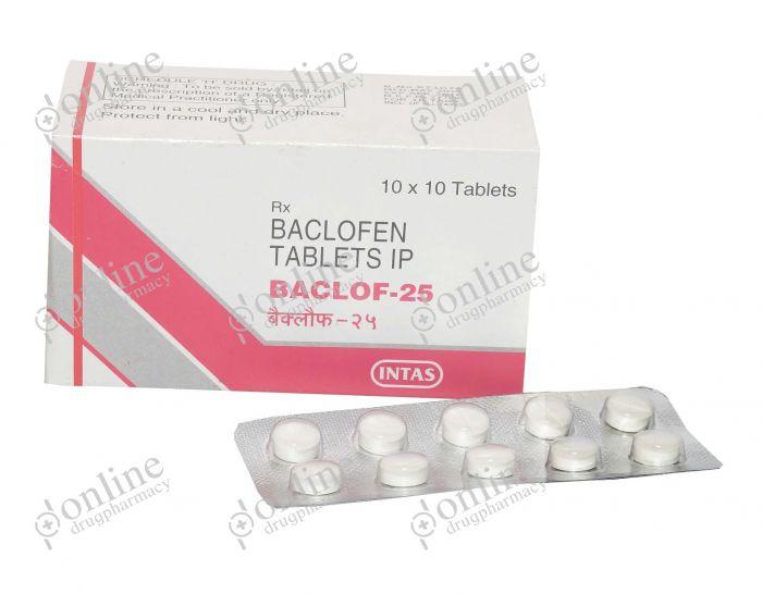 Baclof 25 mg-Front-view