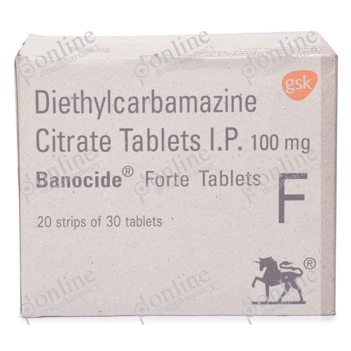 Banocide Forte 100 mg-Front-view