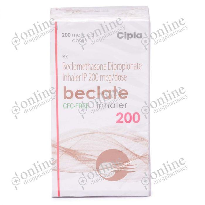 Beclate Inhaler 200 mcg-Front-view