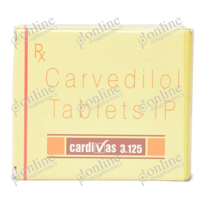 Cardivas 3.125 mg-Front-view