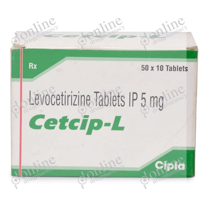 Cetcip-L 5 mg-Front-view