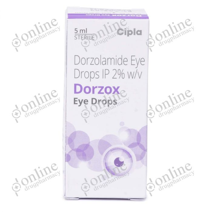 Dorzox Eye Drop 2% (5 ml) Eye Drop-Front-view