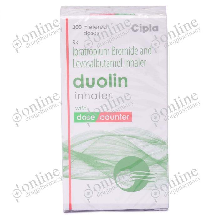 Duolin Inhaler 70 mcg-Front-view