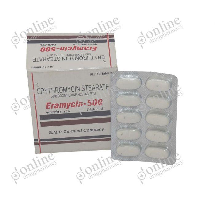 Eramycin 500 mg-Front-view