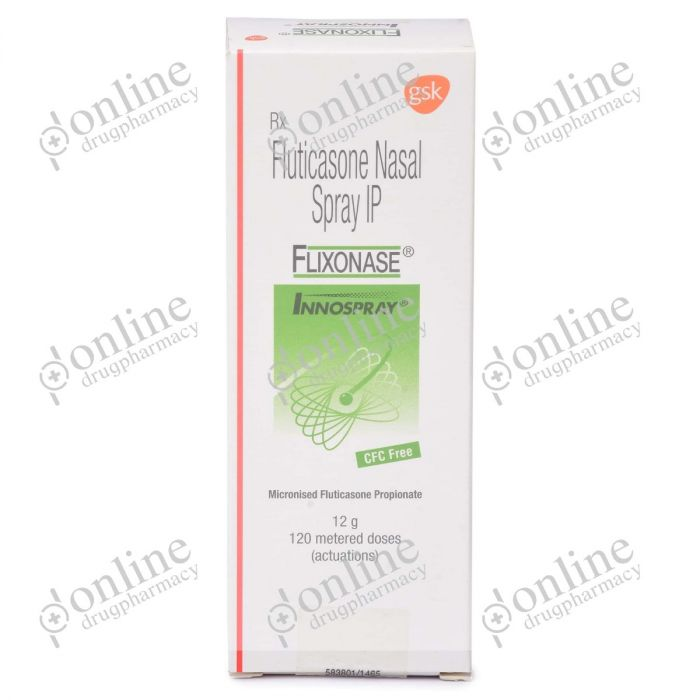Flixonase Nasal spray 50 mcg-Front-view