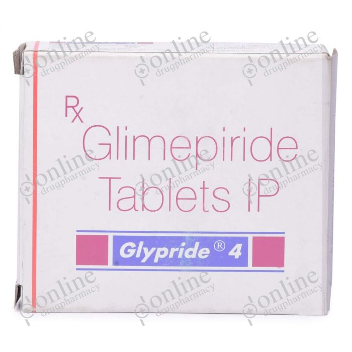 Glypride 4 mg-Front-view