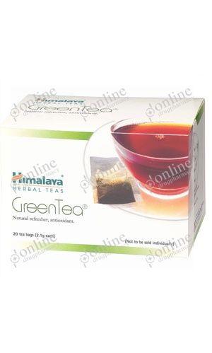 Green Tea 2gm Himalaya-front-view