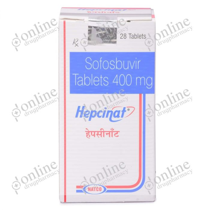 Hepcinat 400 mg-Front-view