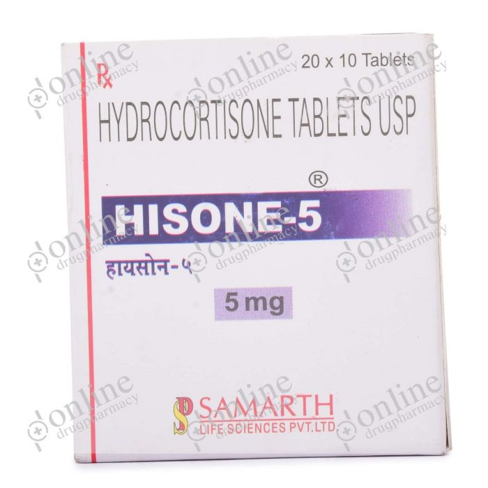 Hisone 5 mg-Front-view
