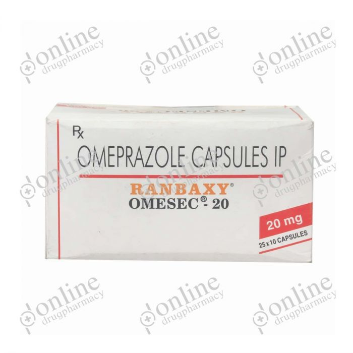 Omesec - 20mg-Front-view