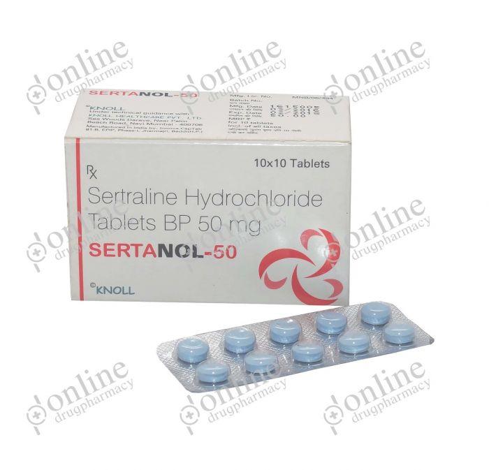 Sertanol 50 mg-Front-view