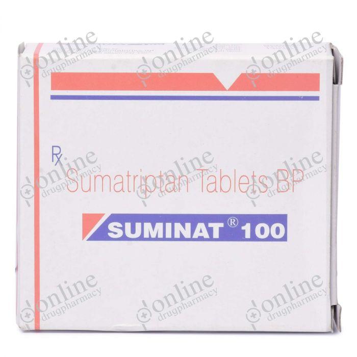 Suminat 100 mg-Front-view