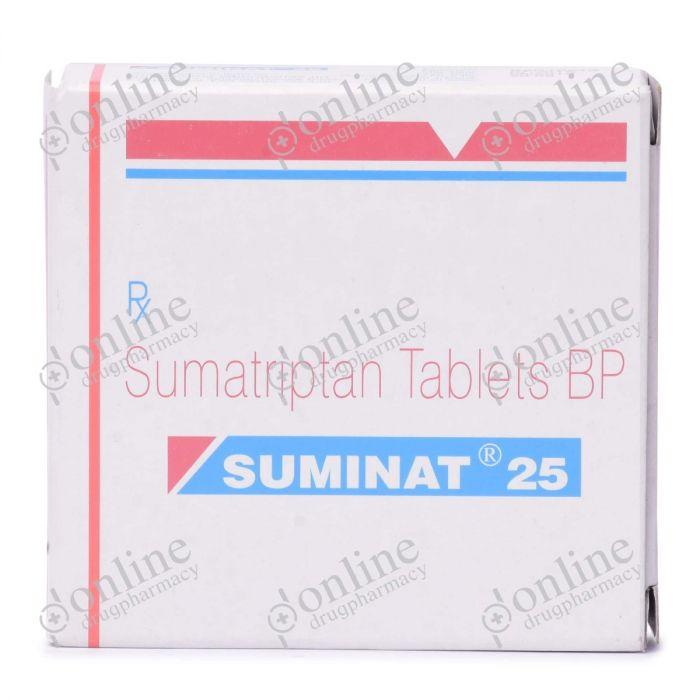 Suminat 25 mg-Front-view