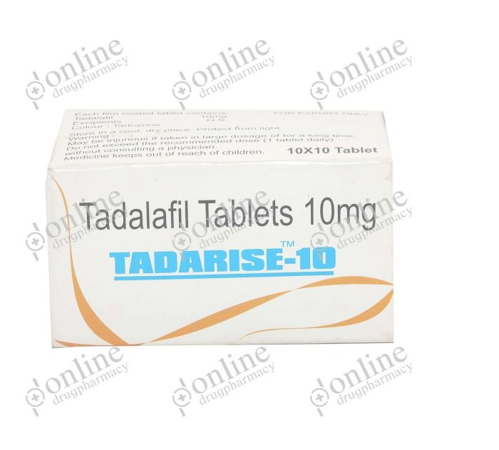 Tadarise 10 mg-Front-view