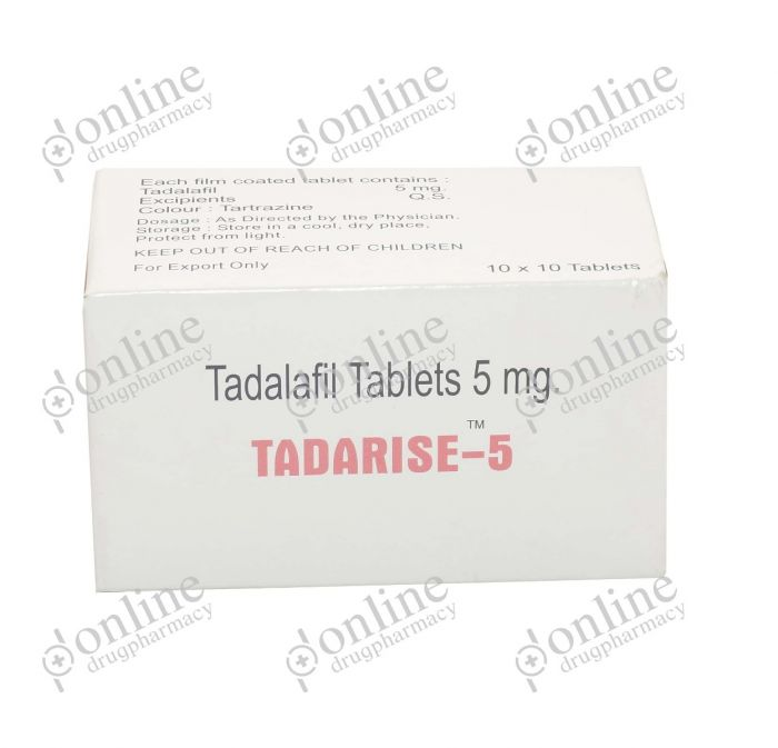 Tadarise 5 mg-Front-view