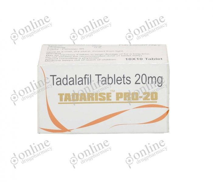 Tadarise PRO 20 mg-Front-view
