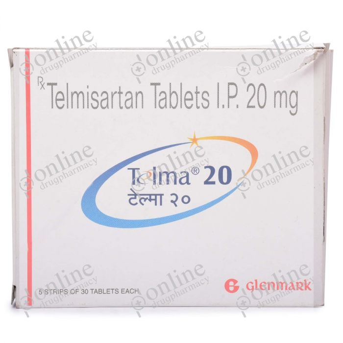 Telma 20 mg-Front-view