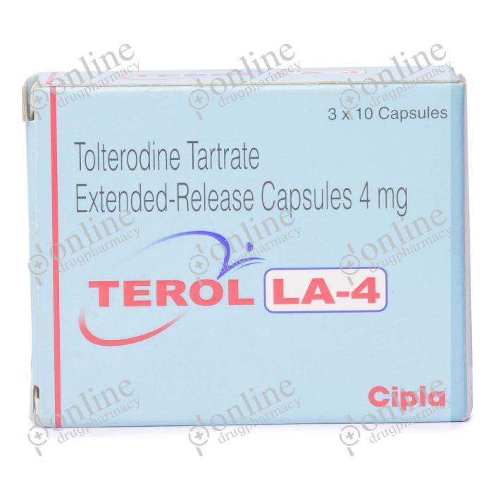 Terol LA 4 mg-Front-view