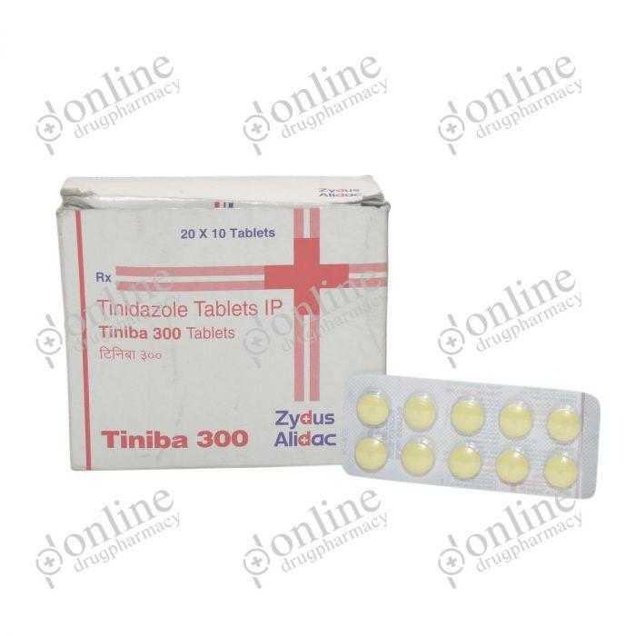 Tiniba 300 mg-Front-view