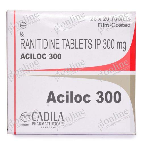 Aciloc 300 mg-Front-view