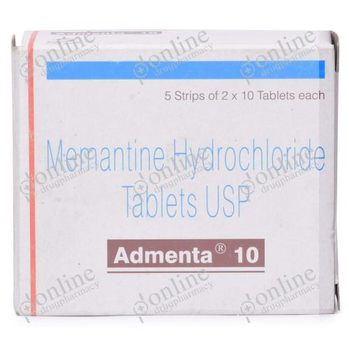 Admenta 10 mg-Front-vew