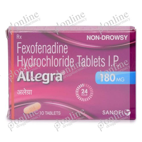 Allegra 180 mg-Front-view