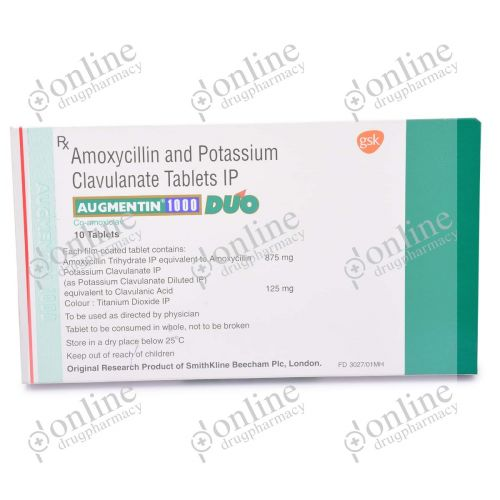 Augmentin 1000 mg-Front-view