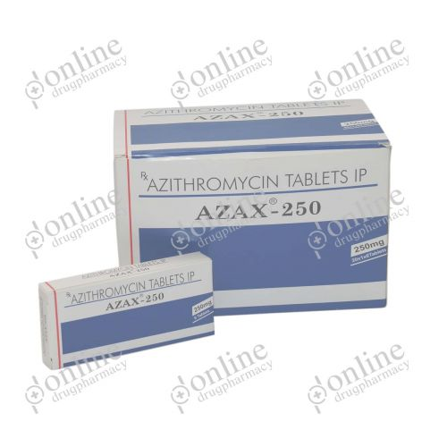 Azax 250 mg-Front-view