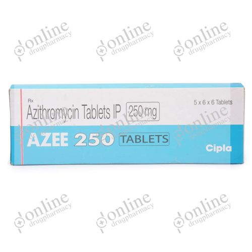 Azee 250 mg-Front-view
