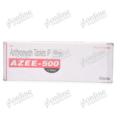 Azee 500 mg-Front-view