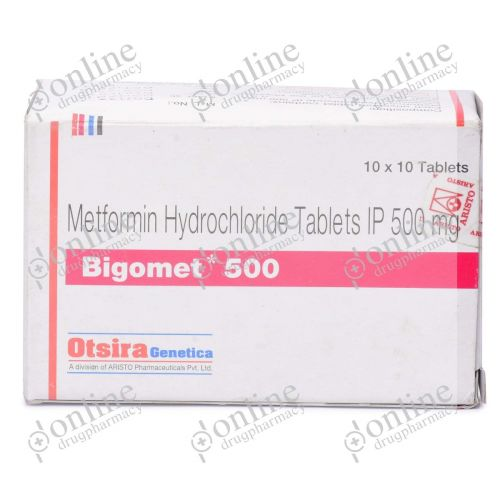 Bigomet 500 mg-Front-view
