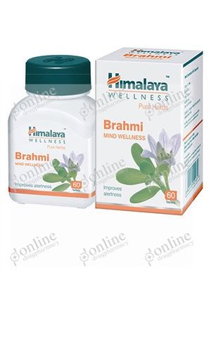 Brahmi Mind Wellness Tablets-front-view
