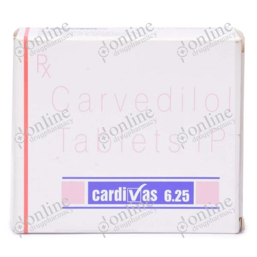 Cardivas 6.25 mg-Front-view