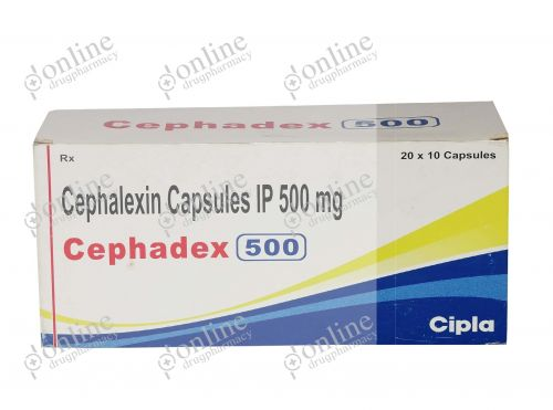Cephadex 500 mg-Front-view