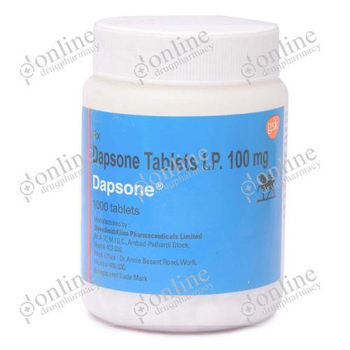Dapsone 100 mg-Front-view