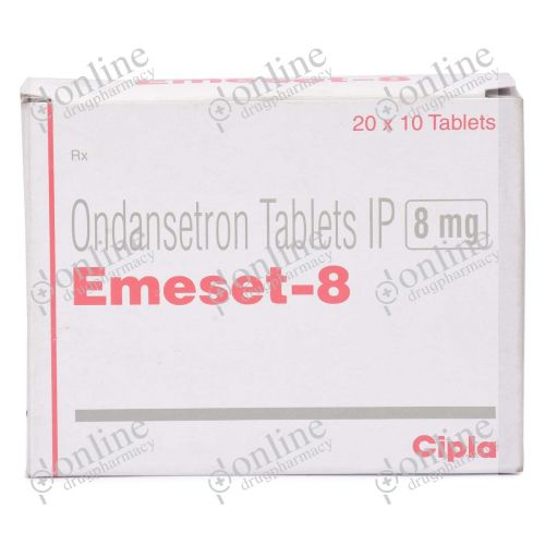 Emeset 8 mg-Front-view