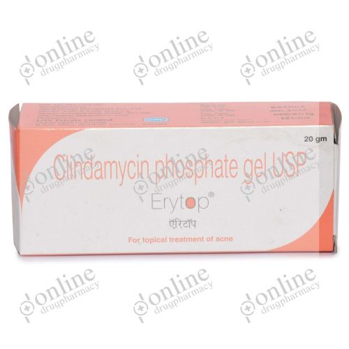 Erytop 1% Gel 20gm-Front-view