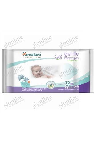 Gentle Baby Wipes 72 pcs. Pack-front-view