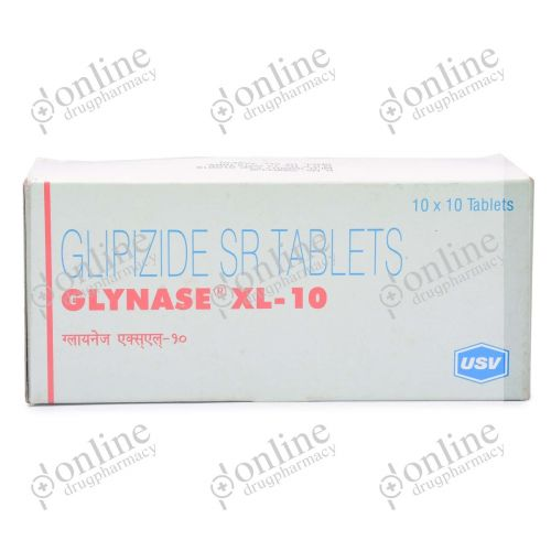 Glynase XL 10 mg-Front-view