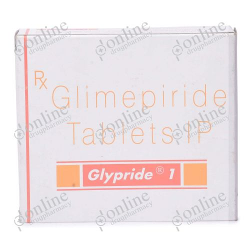 Glypride 1 mg-Front-view