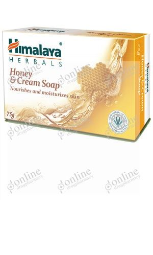 Honey & Cream Soap 75gm-front-view