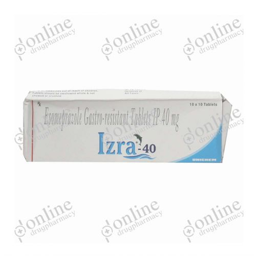 IZRA - 40mg-Front-view